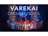 2x Cirque du Soliel tickets