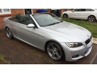 BMW 3 series E93 convertible M Sport with remainder of BMW warranty
