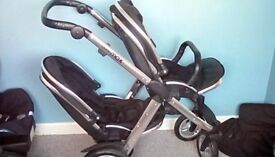 Oyster max tandem pushchair with all the extras ***REDUCED***