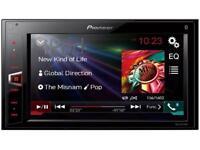 Pioneer MVH-AV270BT Double Din AV Receiver with Built-In Bluetooth