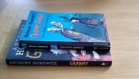 2 childrens books by Anthony Horrowitz for 8+