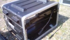 Flight case with light