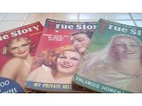 3 TRUE STORY magazines from the 30s