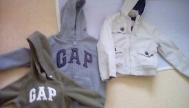 Gap fleeces and an M&S jacket