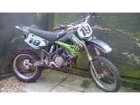 Kawasaki Kx 85 Big wheel. Rebuilt.