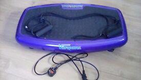 Vibrapower slim exercise plate