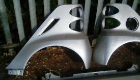 Smart car rear wings 2007-2014