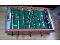 Table top football game great fun