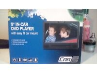NEXTBASE IN-CAR DVD PLAYER WITH EASY FIT MOUNT, BRAND NEW