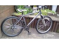 ALUMINIUM CARRERA SUBWAY MOUNTAIN BIKE WITH 18 INCH FRAME