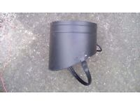Coal bucket. Small and light so not too heavy when full.movable carry handle.