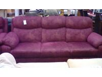 3 Seat Sofa and 2 Armchairs #29622 £199