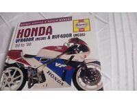 Haynes. Motorbike. Workshop manuals