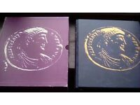 Coin Album Full of Coins