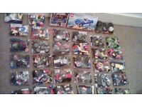 Huge collection of lego bricks, wheels, windows, vehicle spares and 2 great sets