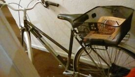 Dawes bicycle with basket