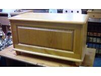 Pine Blanket Box #30856 £29