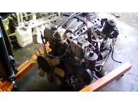 Mercedes diesel engine