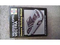 Vauxhall vectra Haynes Manual to suit 2003/2005 petrol and diesel models