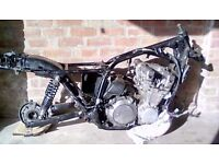 Yamaha XJ900F Engine and Frame