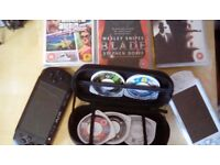 Psp x 2 both working comes with games,films etc