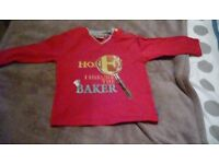 Ted baker boys long sleeve top 9-12 months