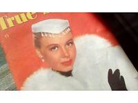 9 x 1950s True Story Magazines
