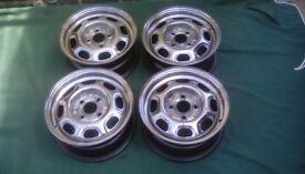 Vw polished steel wheels rim vw vw