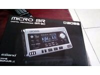 Micro BR Digital Recorder Br-80 brand new in box never been used