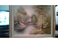 2 Oil Paintings on Canvas