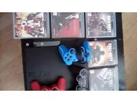 Sony ps3 120gb 3 pads 5 good games all in working order