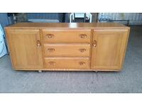 Vintage Ercol Windsor Sideboard