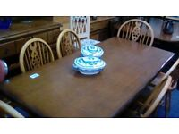 Table and 6 chairs #33408 £125