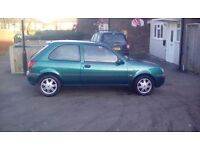 1.3 ford fiesta cheap 1st car or run around in immaculate condition