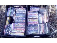 Job lot of dvds approx 100 mixed Paignton