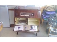 His Masters Voice radiogram model 1633
