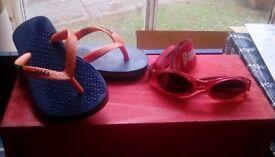 Kids baby banz and ipanema flip flop