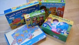 Board Games - a selection of games for children