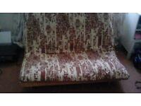 Futon style sofabed