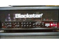 Blackstar Series one 6L6 100 watt head and 4x12 cab