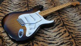 Fender Stratocaster Masterbuilt Chris Fleming 1954 50th anniversary. 2004