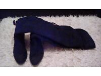 Size 5 knee high boots.
