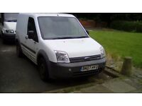 Ford transit connect 07 plate 120 tho miles