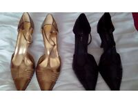 """Next heels. Stunning gladiator shoes with pointed toes. High 2.75"""" stiletto heels"""