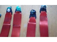 Wheelchair Straps And Clamps With Seat Belt Connection (Full Set) £80.00 ono