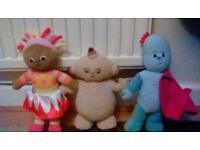 In the Night Garden talking plush toys