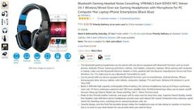 Bluetooth Gaming Headset Noise Cancelling
