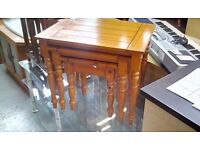 Pine nest of tables 556348