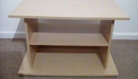 """TV Unit for lounge,office or bedroom,suitable for up to 24"""" screen,light oak"""