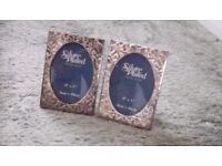 Silver Plated Frames x 2